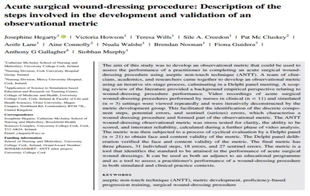 Wound Dressing Procedure